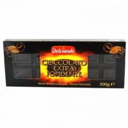 Шоколад черный Dolciando 500г