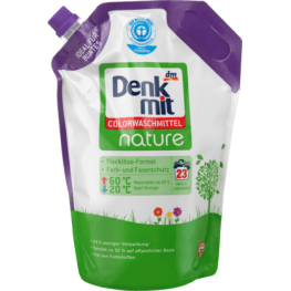Гель для стирки  Denkmit Colorwaschmittel Nature 1,5л