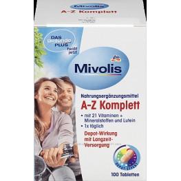 Витаминный комплекс Mivolis Plus A-Z Komplett  100шт