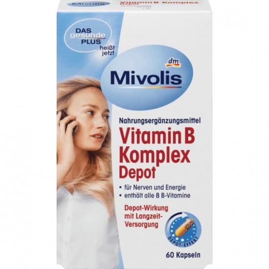 Витаминный комплекс Vitamin B Komplex Depot Mivolis  60 шт