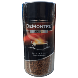 Кофе растворимый De Montre Gold 200г