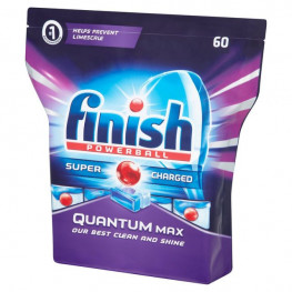 Таблетки для посудомойки Finish Quantum Max 60шт