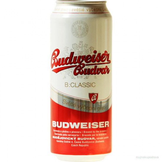 Пиво Budweiser budwar 10%  0.5 л ж/б