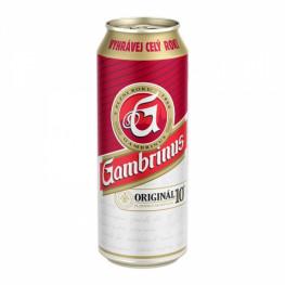 Пиво Gambrinus Original светлое 0,5 л ж/б
