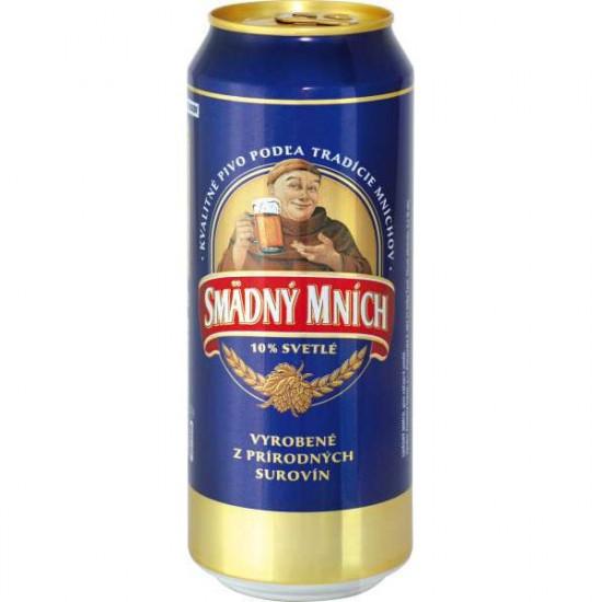 Пиво Smadny Mnich светлое 0,5 л ж/б