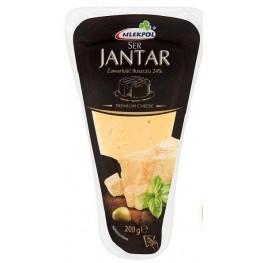 Сыр твердый  Jantar 200г Mlekpol