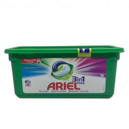 Капсулы Ariel 3в1 COLOR 26шт