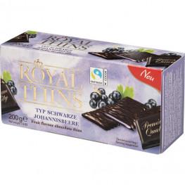 Шоколад  мята и черная смородина  ROYAL THINS 200 г