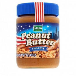 Арахисовая паста Gina Peanut Butter Creamy 350г