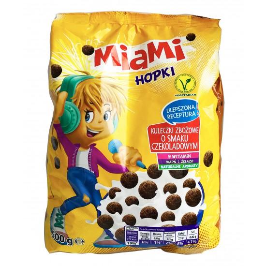 Злаковые шоколадные шарики Miami Hopki, 500г