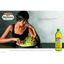 Природа дает нам оливки. Наш опыт, качество масла. Monini Classic Extra Virgin.