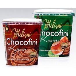 Шоколадная паста Chocofini Milimi 400г