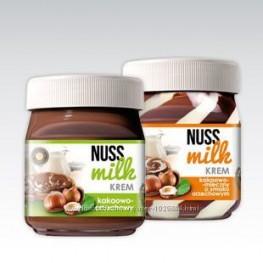 Шоколадная паста NUSS MILK krem  400г